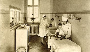 Marien-Hospital-Kinderstation-vor-1945