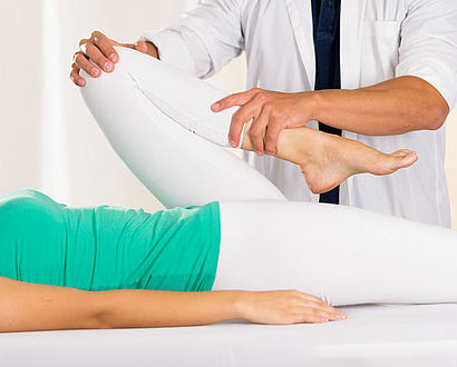Physiotherapie Behandlung pro homine